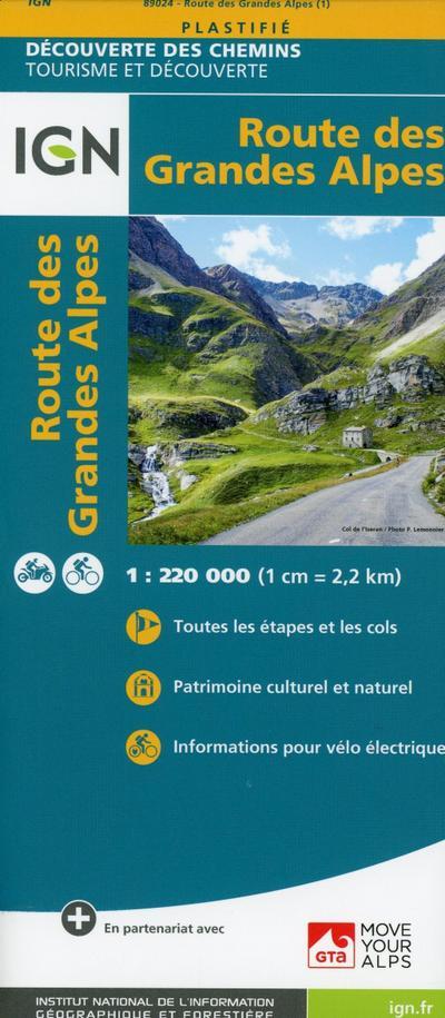 Route des Grandes Alpes 1 : 220.000
