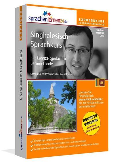 Sprachenlernen24.de Singhalesisch-Express-Sprachkurs. CD-ROM