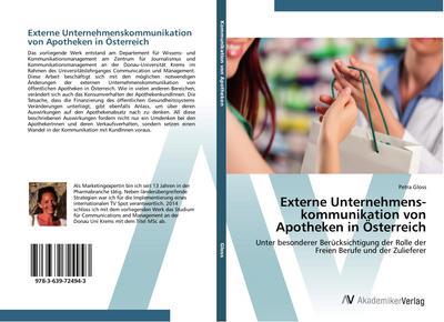 Externe Unternehmenskommunikation von Apotheken in Österreich