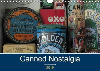 Canned Nostalgia (Wall Calendar 2019 DIN A4 Landscape)