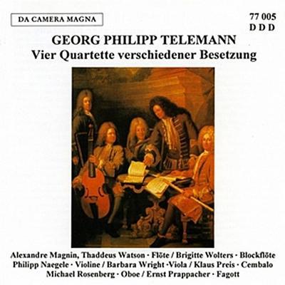 4 Quartette In Untersch.Besetzung