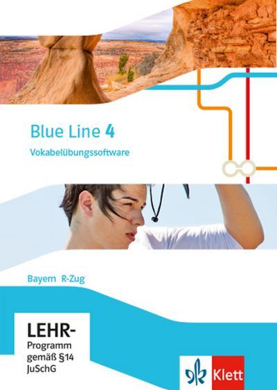 Blue Line 4 R-Zug. Ausgabe Bayern. Vokabelübungssoftware CD-ROM Klasse 8
