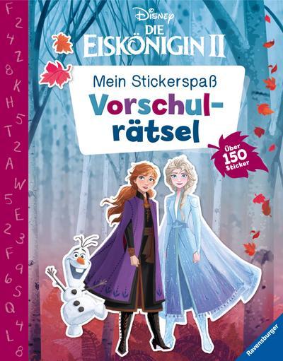 Mein Stickerspaß Disney Die Eiskönigin 2: Vorschulrätsel