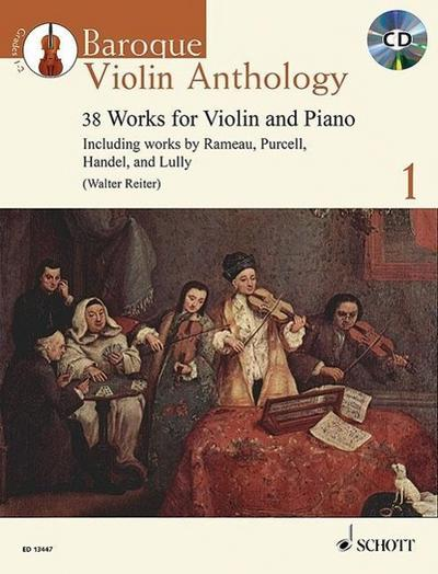 Baroque Violin Anthology. Vol. 1