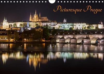 Picturesque Prague (Wall Calendar 2019 DIN A4 Landscape)