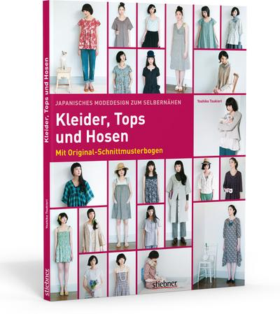 Japanisches Modedesign zum Selbernähen: Kleider, Tops und Hosen