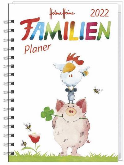 Helme Heine Familienplaner Buch A6 - Kalender 2022