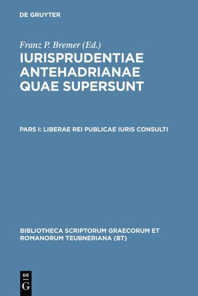 Liberae rei publicae iuris consulti