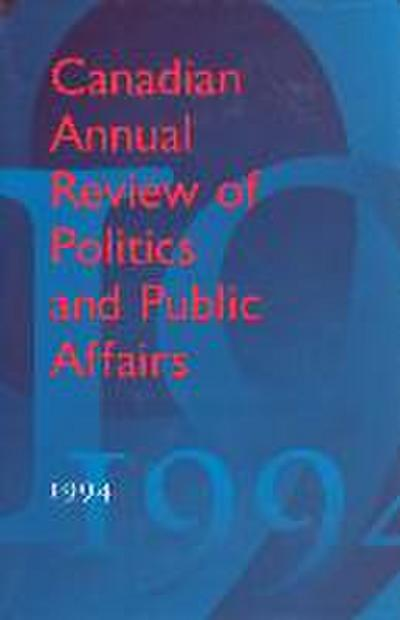 Canadian Annual Review of Poli