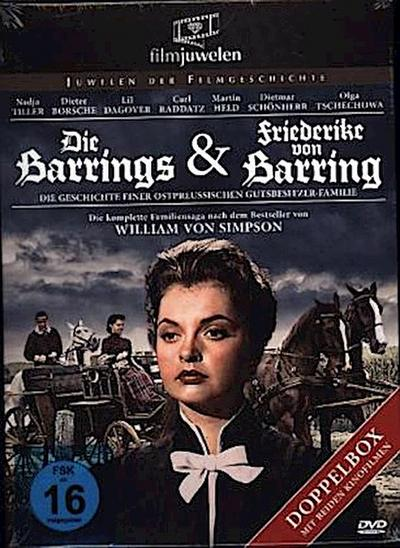 Die Barrings & Friederike von Barring - Doppelbox (2 DVDs)