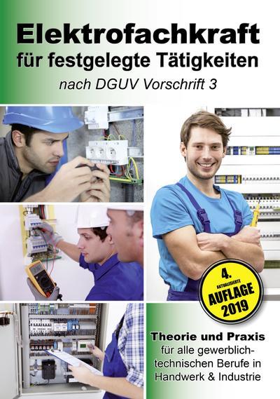 Elektrofachkraft für festgelegte Tätigkeiten nach DGUV Vorschrift 3