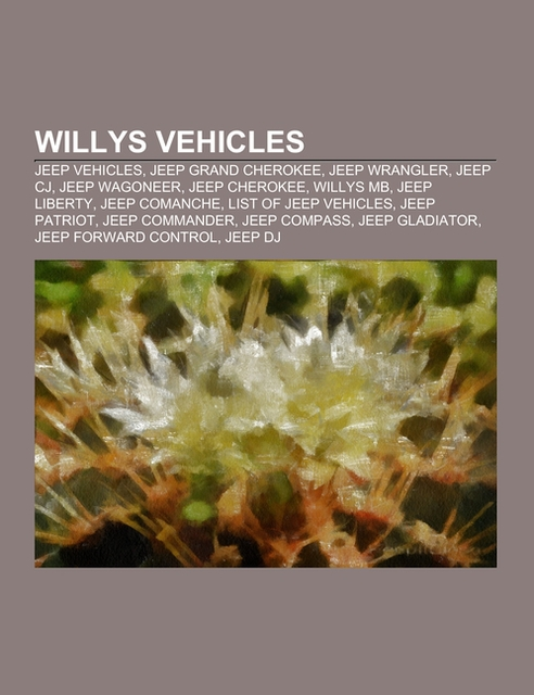 Willys vehicles |  |  9781155508887