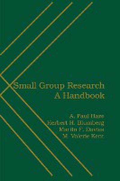 Small Group Research: A Handbook