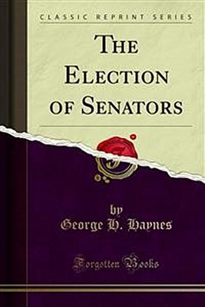 The Election of Senators