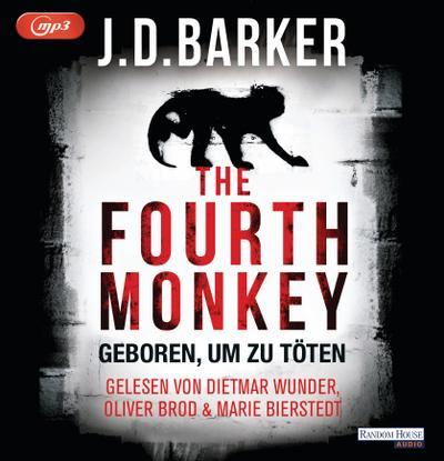 The Fourth Monkey - Geboren, um zu töten; Sam Porter; Übers. v. Flegler, Leena; Deutsch