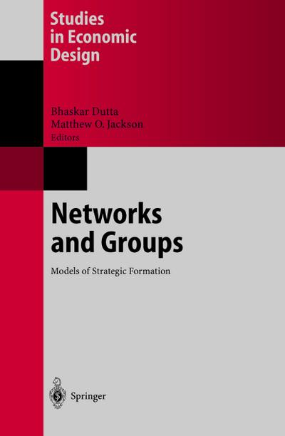 Networks and groups : models of strategic formation