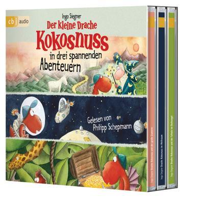 Der kleine Drache Kokosnuss in drei spannenden Abenteuern