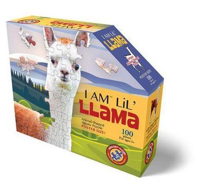 Madd Capp Shape Puzzle Junior Lama 100 Teile