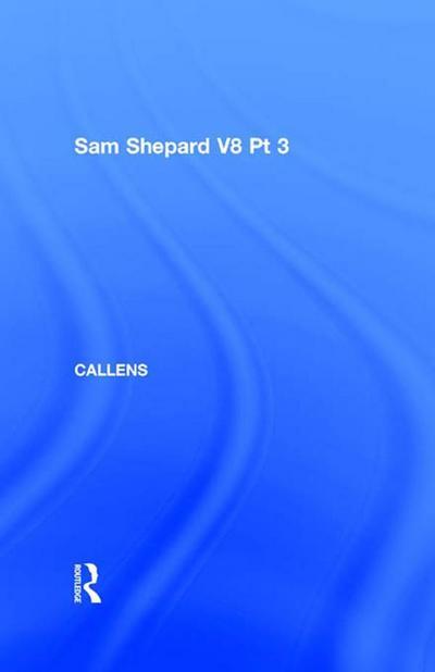 Sam Shepard V8 Pt 3