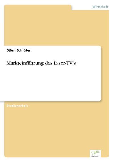 Markteinführung des Laser-TV's
