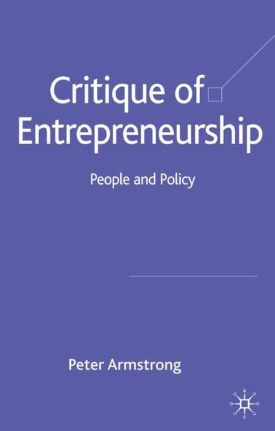 Critique of Entrepreneurship