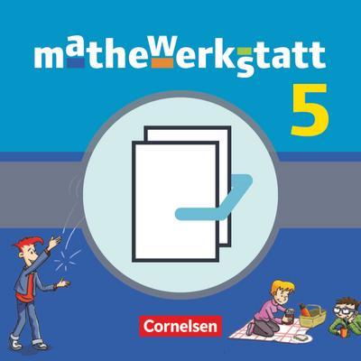 mathewerkstatt - Mittlerer Schulabschluss Band 5 - Baden-Württemberg - Schülerbuch mit Materialblock