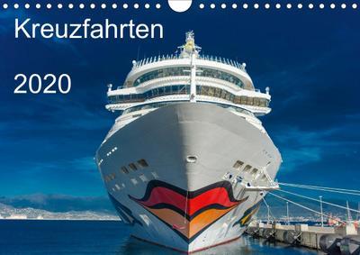 Kreuzfahrten 2020 (Wandkalender 2020 DIN A4 quer)