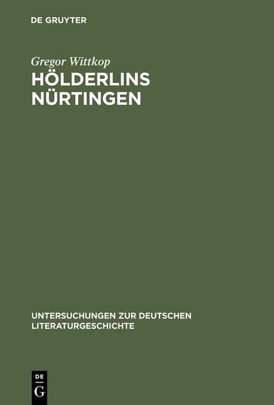 Hölderlins Nürtingen