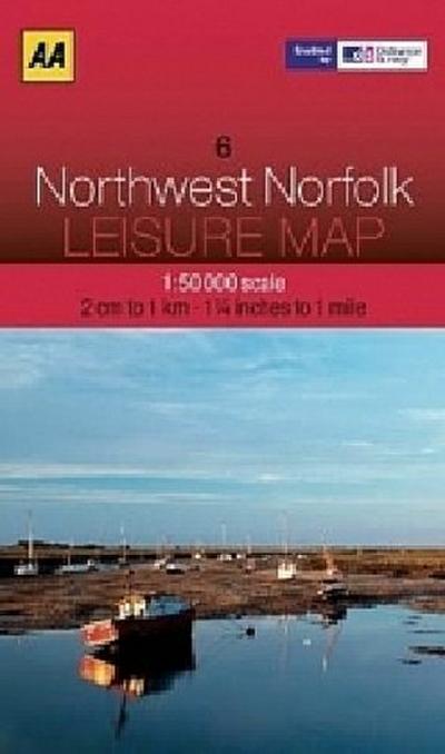 aa-leisure-map-northwest-norfolk-aa-leisure-maps-