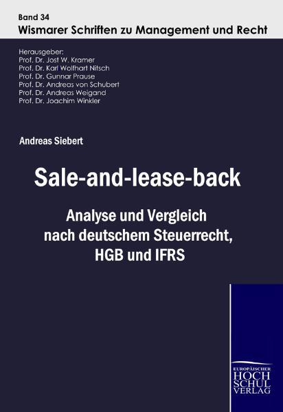 Sale-and-lease-back Andreas Siebert