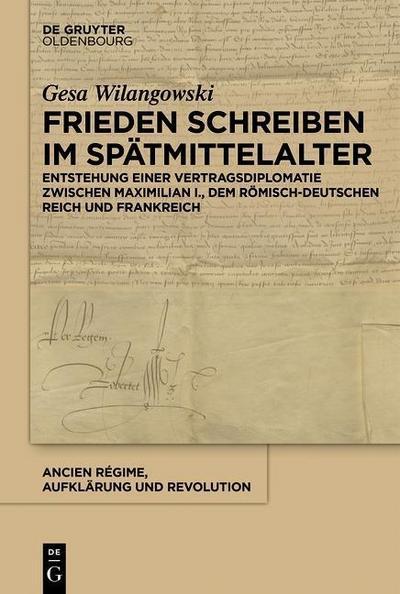 Frieden schreiben im Spätmittelalter