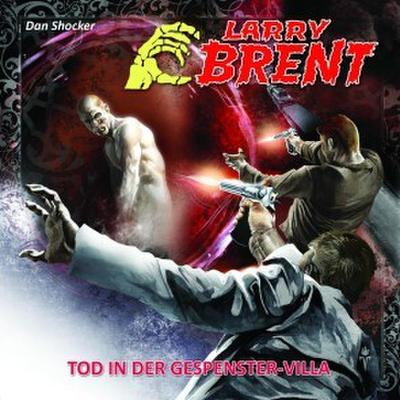Larry Brent - Tod in der Gespenstervilla, 1 Audio-CD