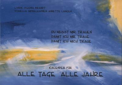 Kalender für alle Tage - alle Jahre, Geburtstagskalender - UHR-Verlag - Kalender, Deutsch, Regina Brandt, ,