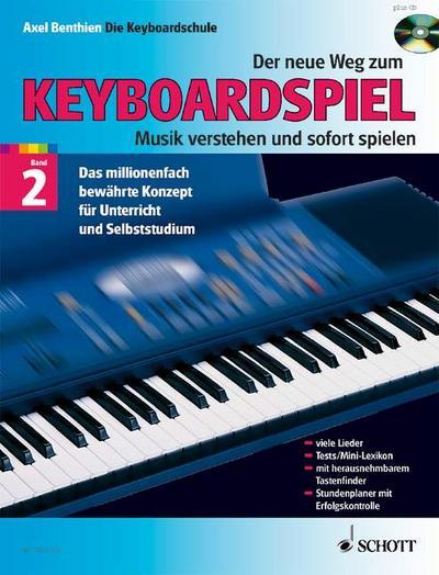 Der neue Weg zum Keyboardspiel Bd.2 m. Audio-CD