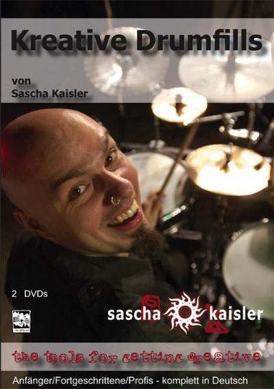 Kreative Drumfills, 2 DVDs