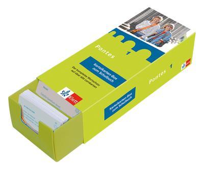 Pontes, Latein für Gymnasien Karteikarten-Box zum Schülerbuch