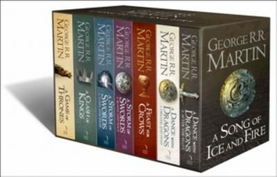 A Game of Thrones: The Story Continues. 7 Volumes Boxed Set (A Song of Ice and Fire)