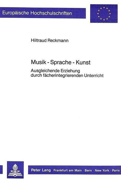 Musik - Sprache - Kunst