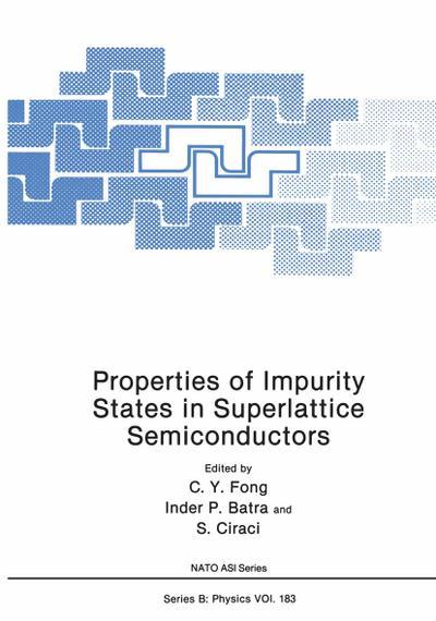 Properties of Impurity States in Superlattice Semiconductors