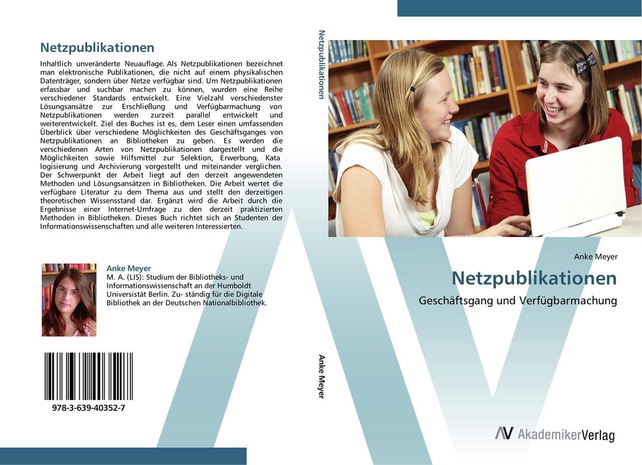 Netzpublikationen - Anke Meyer -  9783639403527