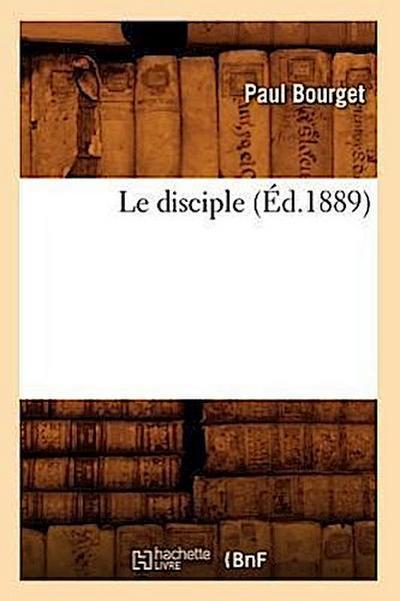 Le Disciple (Éd.1889)