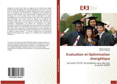 Evaluation et Optimisation énergétique
