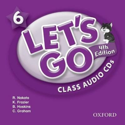 Let's Go 6. 4th edition. Class Audio CDs