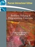 Problem Solving and Programming Concepts by S ...