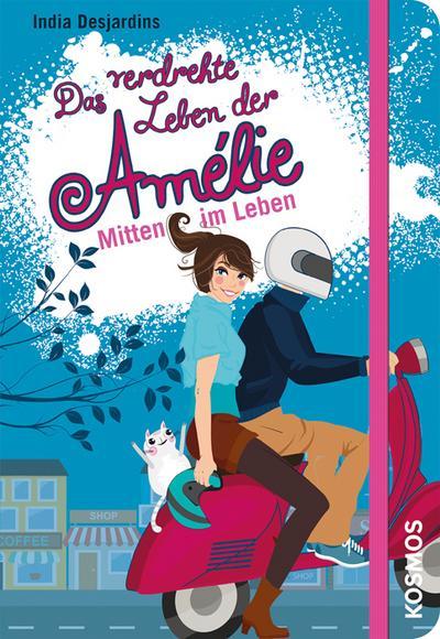 Das verdrehte Leben der Amélie, 8, Mitten im Leben; Das verdrehte Leben der Amélie; Ill. v. Tellier, Josée; Deutsch; 6 Illustr.