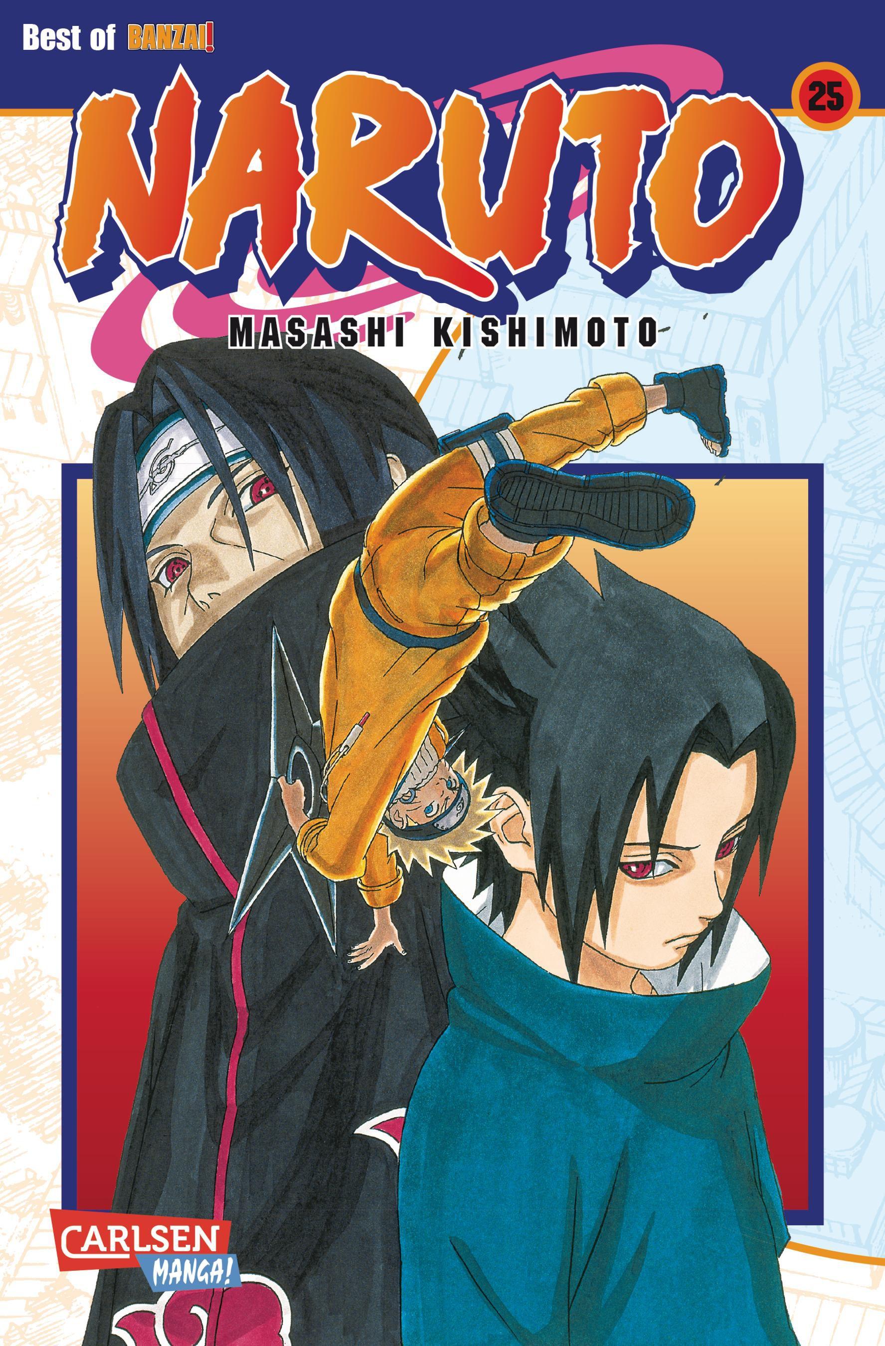Masashi Kishimoto ~ Naruto 25 9783551774255
