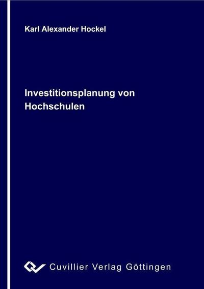 Investitionsplanung von Hochschulen