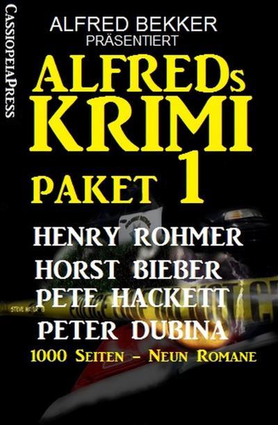 Alfreds Krimi Paket 1