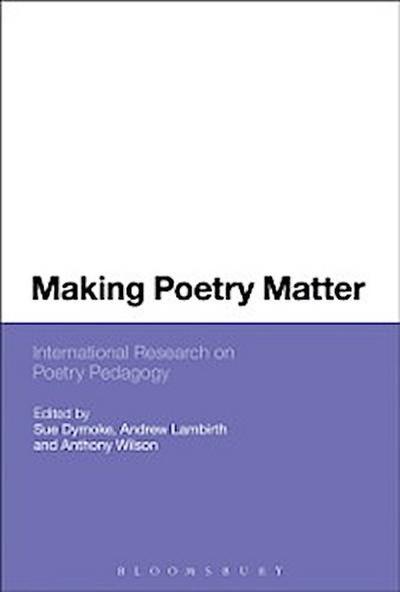 Making Poetry Matter
