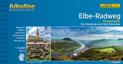 Bikeline Radtourenbuch Elbe-Radweg Stromaufwärts